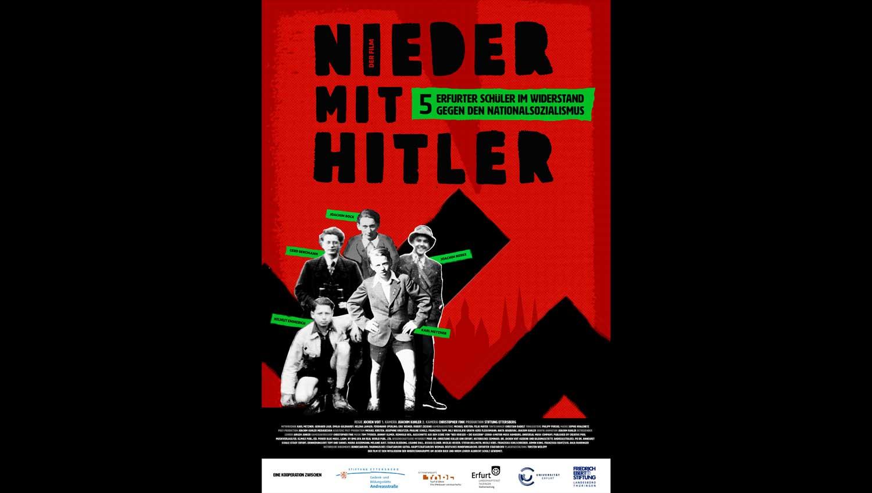 Einer der frühen Entwürfe für das Filmplakat von Torsten Weilepp.