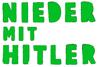 Nieder mit Hitler -