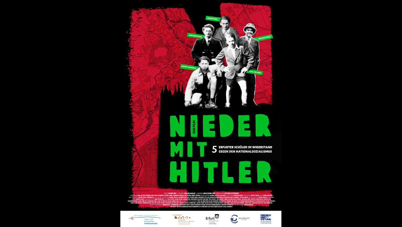 Die finale Ausarbeitung des Filmplakates von Torsten Weilepp.