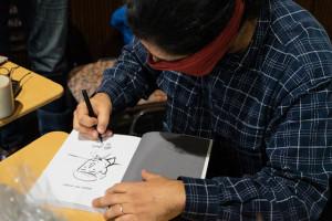 Comic-Lesung in Zeiten der Pandemie (Mariengymnasium Jever, 23.11.2020)